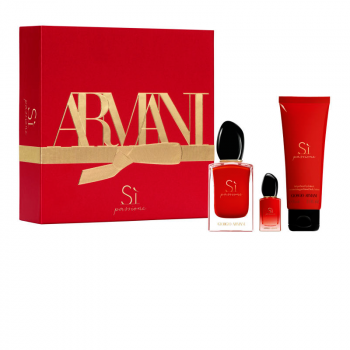 Giorgio Armani Si Passione Set EdP 50 ml+Mini EdP 7 ml+BL 75ml