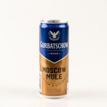 Gorbatschow Moscow Mule 0,33L 10%