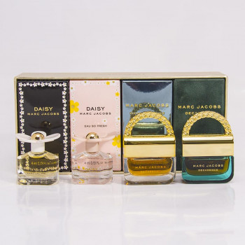 M.Jacobs Coffret Daisy 4 ml + Eau So Fresh 4 ml + Divine Decadence 4 ml + Decadence 4 ml